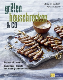 Cover: Grillen, Heuschrecken & Co.